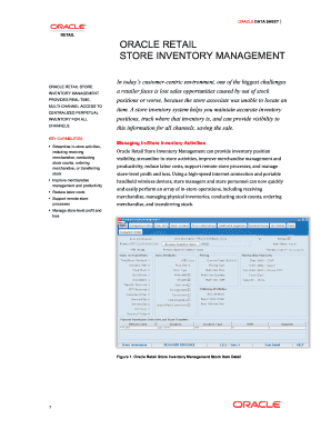store inventory form