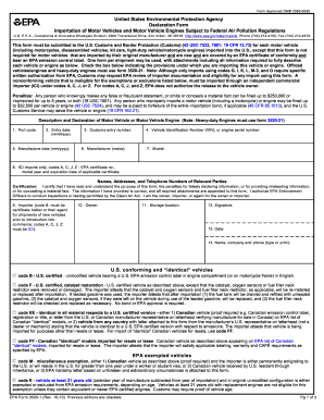 2010 Form EPA 3520-1 Fill Online, Printable, Fillable, Blank ...
