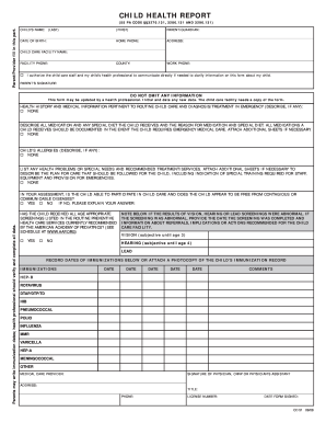 16 printable emergency contact form for child templates fillable