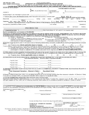 nj affidavit of consideration Fillable Online state nj affidavit of consideration by buyer form ...