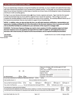 Borrowers Authorization For Counseling - Fill Online, Printable ...