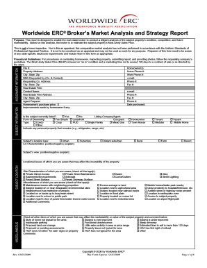 Market Analysis Forms - Fill Online, Printable, Fillable, Blank ...