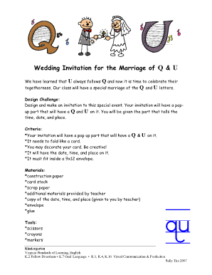 typable wedding invitation form
