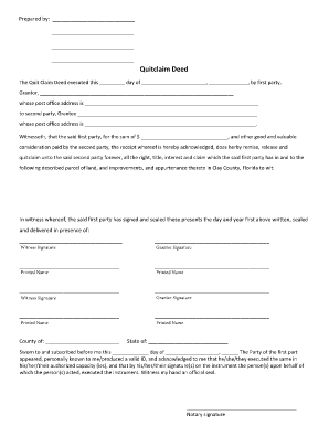 quick claim deed form for florida  Iowa Dor Quit Claim Deed Form - Fill Online, Printable ...