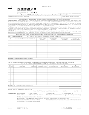 Pa Form W2s - Fill Online, Printable, Fillable, Blank | PDFfiller