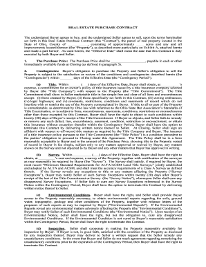 Land contract template forms fillable printable samples for pdf ohio estate contract form maxwellsz