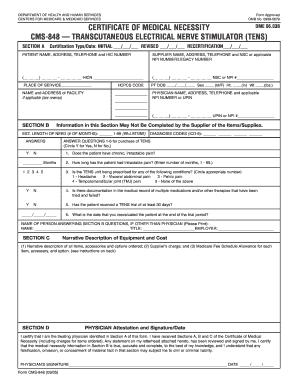 Cms 848 Medicare Form - Fill Online, Printable, Fillable, Blank ...