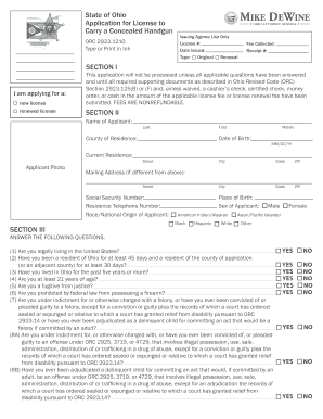 100107887 Oklahoma Concealed Carry Application Form To Print Out on