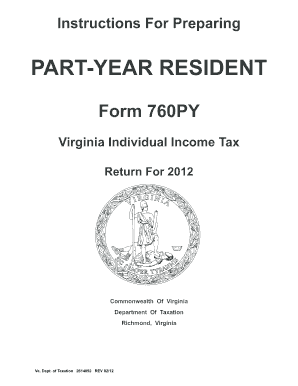 Resident Individual Income Tax Booklet