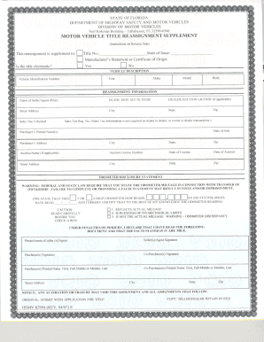 Florida Dmv Title Request