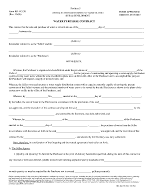 Purchase Agreement Blank Form