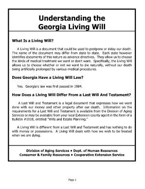 image regarding Printable Living Will called Dhr Dwelling Will - Fill On the internet, Printable, Fillable, Blank