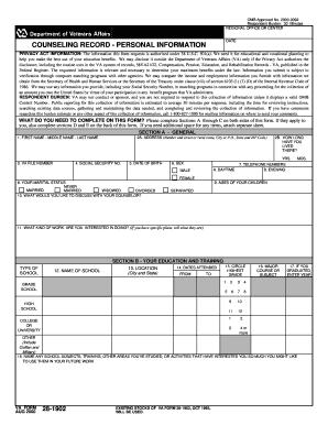 va form 28-1902w Form 28 2000 - Fill Online, Printable, Fillable, Blank | PDFfiller