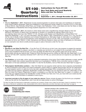 Form St 100 Fill In - Fill Online, Printable, Fillable, Blank ...