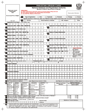 Nadra Affidavit Form - Fill Online, Printable, Fillable, Blank ...