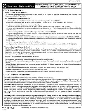 2005 Form VA 10-10EC Fill Online, Printable, Fillable, Blank ...