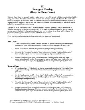 emergency temporary custody form Templates - Fillable & Printable ...