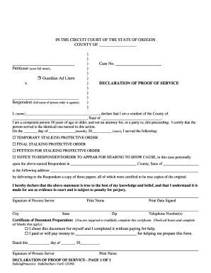 bill of sale form oregon affidavit of service form templates