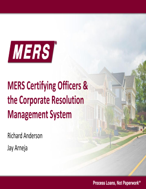 mers corporate resolution form