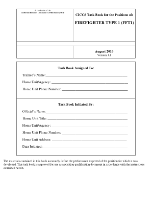 nwcg firefighter type 1 2010 form