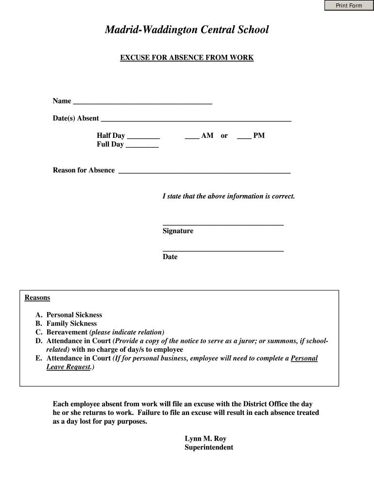 Doctors Note Template Fill Online Printable Fillable