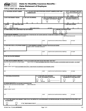 De 2501 Rev 77 Pdf Form - Fill Online, Printable, Fillable, Blank ...