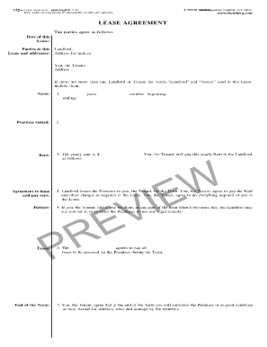 photograph relating to Free Printable Blumberg Lease named Blumberg Hire Arrangement A 54 - Fill On the internet, Printable