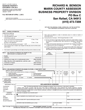 2013 Form CA BOE-571-L (P1) Fill Online, Printable, Fillable ...