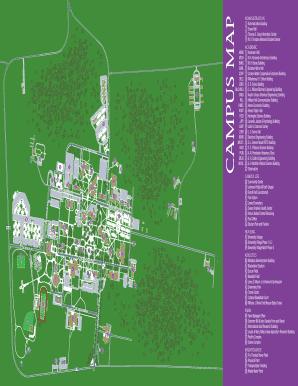 Prairie View Campus Map.Fillable Online Pvamu Campus Map Pvamu Fax Email Print Pdffiller