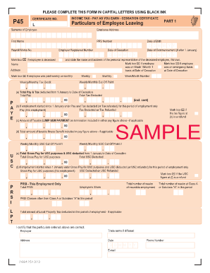 P46 form download free.