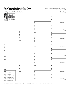 Pedigree Chart Forms and Templates - Fillable & Printable Samples ...