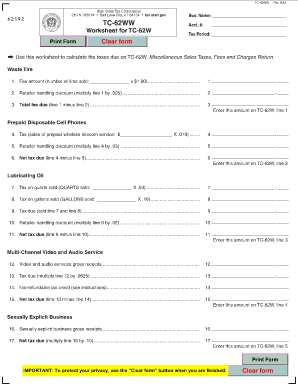 Utah Sales And Use Tax Form Tc 62m - Fill Online, Printable ...