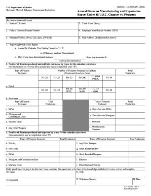 Atf form 6a pdf editor