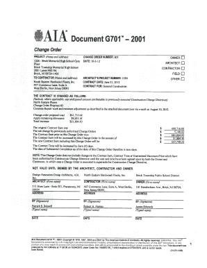 G701 - Fill Online, Printable, Fillable, Blank | PDFfiller