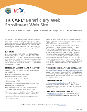 beneficiaries of online enrollment Sailors and families who log into the servicemember's group life insurance ( sgli) online enrollment system (soes) for th.