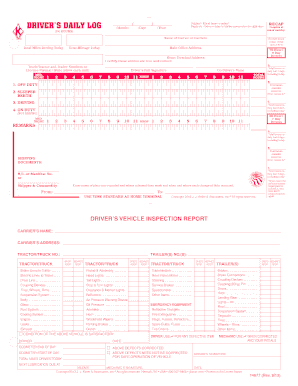 drivers time record Fillable Driver Time Record - Fill Online, Printable, Fillable ...