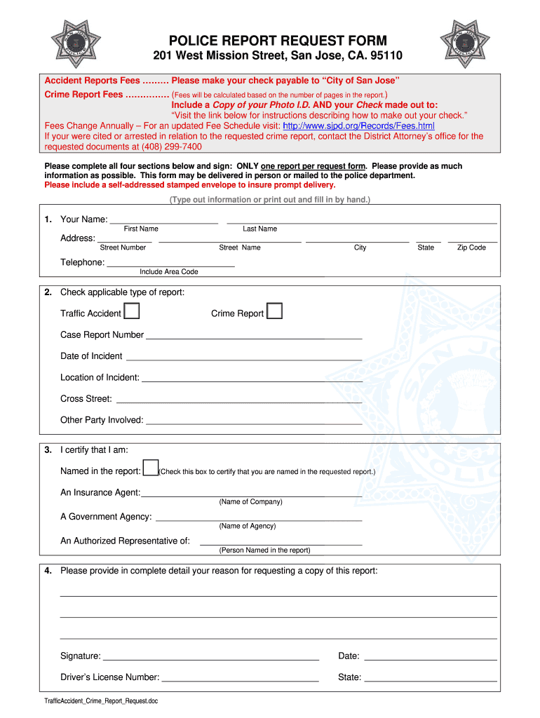 Police Form Fill Tha Blanks Photo - Fill Online, Printable ...