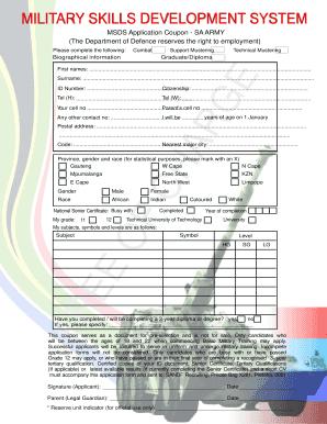 msds application coupon sa air force