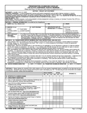 Dd Form 2648 - Fill Online, Printable, Fillable, Blank | PDFfiller