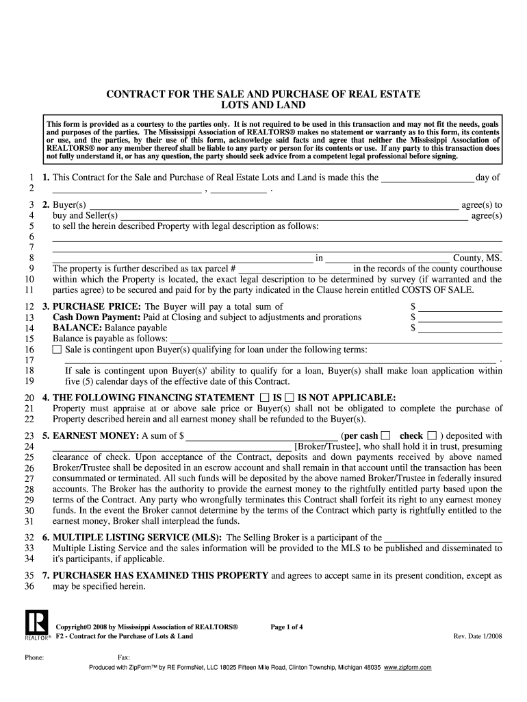 Real Estate Option Contract Form 2020 - Fill and Sign ...