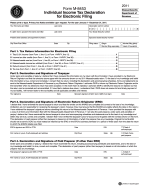 M 8453 Tax Form Pdf - Fill Online, Printable, Fillable, Blank ...