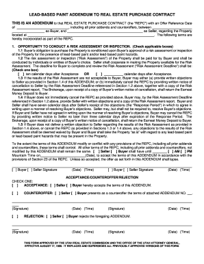 Bill Of Sale Form Utah Real Estate Purchase Contract Form ...