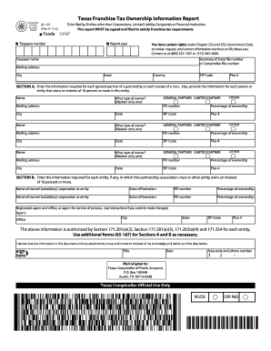 Texas Form 05 167 - Fill Online, Printable, Fillable, Blank ...