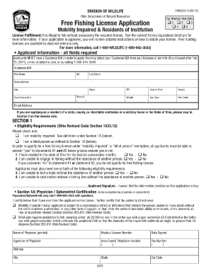 form dnr 9032 fill online printable fillable blank
