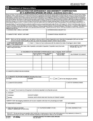 Va Form 21 534a - Fill Online, Printable, Fillable, Blank | PDFfiller