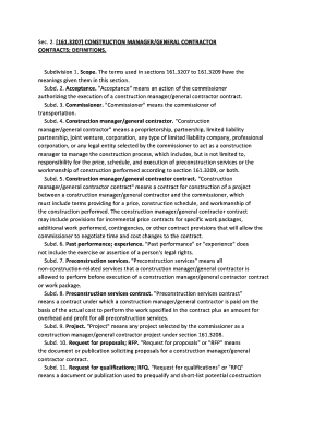 general contractor contract