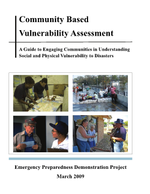 Community Based Vulnerability Assessment: A Guide to - MDC - mdcinc