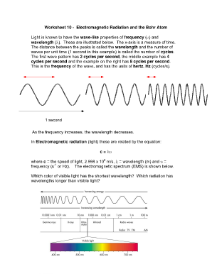 worksheets electromagnetic waves worksheet opossumsoft worksheets and printables. Black Bedroom Furniture Sets. Home Design Ideas