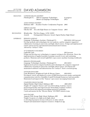 17 Printable High School Graduate Resume Skills Forms And Templates Fillable Samples In Pdf Word To Download Pdffiller