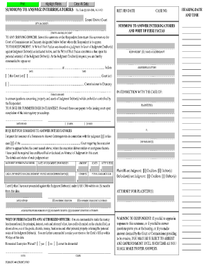 Form Interrogatories Employment Fillable California - Fill Online ...